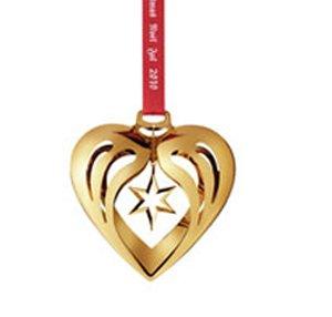 (Georg Jensen Christmas Ornament 2010 - Heart)