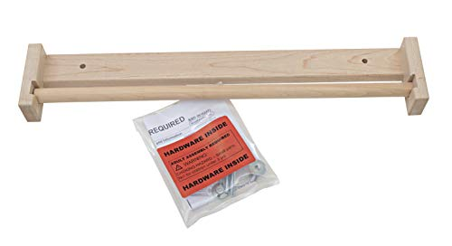 Childcraft 074996 Paper Roll Holder, Double Adjustable Easel, Natural Wood ()