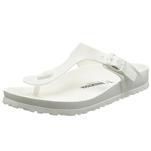 Birkenstock Women's Gizeh EVA Sandals (40 M EU / 9-9.5 B (M) US Women, White)