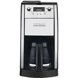 Amazoncom Cuisinart Grind Brew 10cup Automatic Coffeemaker DCC