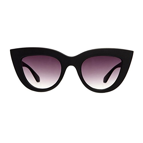 QUAY AUSTRALIA Women's Kitti Black/Smoke Lens - Kitti Sunglasses