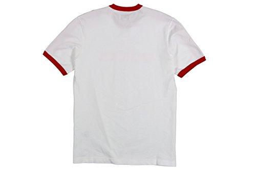 Adidas Heren Ldn Og Tee Wit / Rood Bk7660 Wit