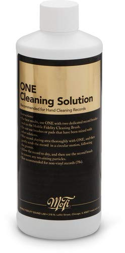 Mobile Fidelity - One Record Cleaning Solution (16oz) by Mobile Fidelity