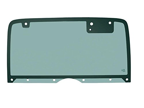 PPR Industries 30990190-95 Rear Glass Window Without Defrost For 1987-95 Jeep Wrangler Hardtop With 10 -
