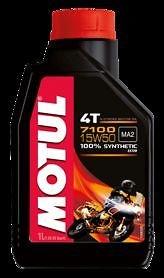 OLIO MOTUL 7100 4T 15W50 100 % SINTETICO