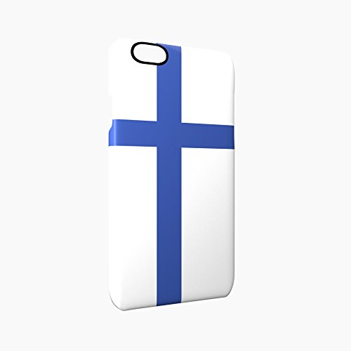 Flag of Finland Glossy Hard Snap-On Protective iPhone 6 / 6S Case Cover