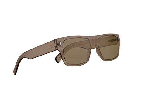 Christian Dior Homme DiorFraction4 Sunglasses Mud w/Light Green Lens 54mm 79UO7 Fraction 4 Fraction4