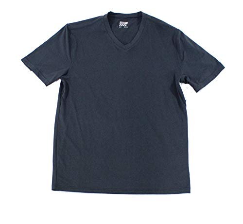 32 DEGREES Cool Mens Small V Neck Casual Performance T-Shirt Blues