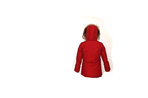 2016 Rosso Woolrich i Artic Parka A Mainapps Bimba Girl 2017 PYfzP