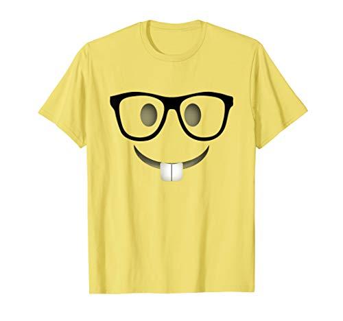 Nerd Emoji Halloween Costume Shirt Adults Group -