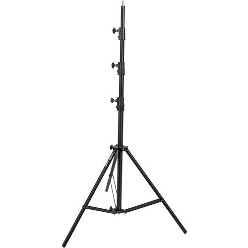 Impact Air-Cushioned Heavy-Duty Light Stand (Black, 13') ()