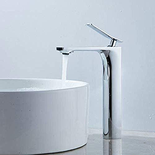 YKJ-YKJ 浴室のための一つの穴を持つ1つのハンドルクローム仕上げタップ洗面ミキサータップ現代Leekayerバスルームのカウンター 蛇口