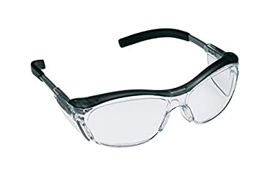 3M Nuvo Anti-Fog Safety Glasses, Translucent Gray Frame, Clear Lens