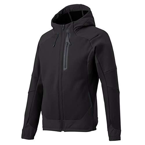 Descente Men's Athletic Tough Air Plus Hooded Jacket Black