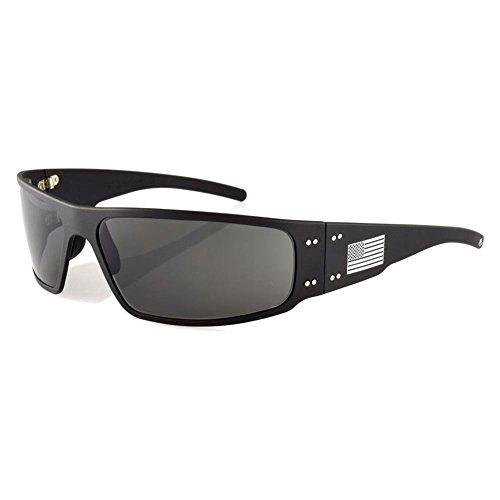Gatorz Magnum Black Grey with American - Magnum Sunglasses Gatorz