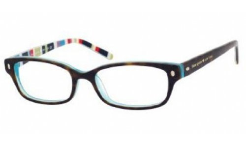 Kate Spade Lucyann Eyeglasses-0X77 Tortoise Aqua Striped-49mm