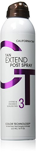 California Tan Extend Post Spray, 6 Ounce - California Golden Spray
