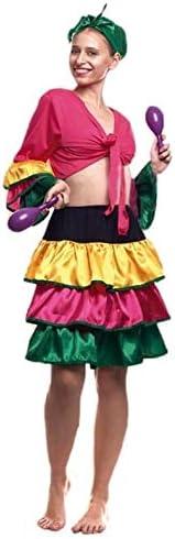 Partylandia Disfraz de Brasileña Corto - Mujer, M: Amazon.es: Ropa ...