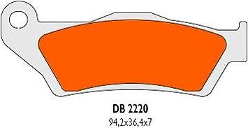 Bremsbel/äge Delta Braking Sinter DB2220RDN f/ür KTM 125/LC2/Baujahr 96 98/ vorne