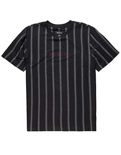 Brixton Hilt Black T-Shirt