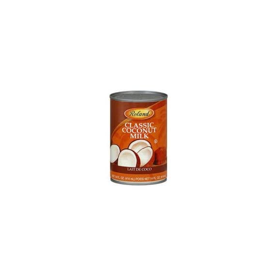 Roland Coconut Milk, Classic - 14 fl oz 1 Product Size: 1 can - 14 fl oz From Thailand, by Roland Click the Gourmet Food World name above to see all of our products. We sell: