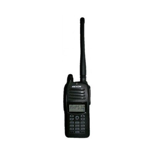0eff8c177ba Rexon Air Band Handheld Radio Transceiver RHP-530 with VOR and 1700mAh Li-