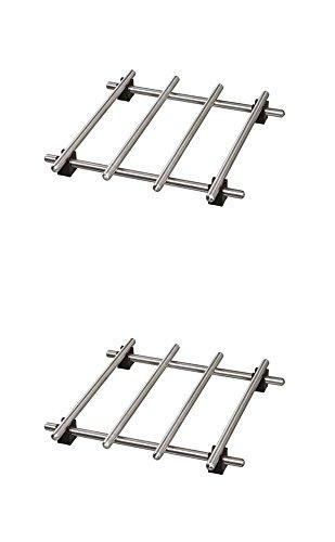 Best Price Ikea Trivet (2 Pack) Lamplig Stainless Steel 7 X 7
