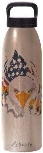 UPC 610585993552, Liberty Bottleworks Talons Water Bottle, Aluminium, 24-Ounce