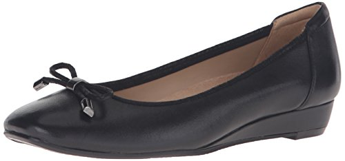 Naturalizer Women's Dove Wedge Pump, Black, 6.5 M US
