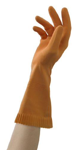 (Mr. Clean Ultra Grip, Heat Resisting, Soft Cotton Flock Lining, Extreme Non-Slip Diamond Grip Gloves)