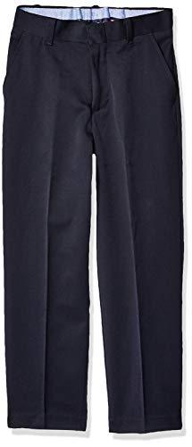 - Tommy Hilfiger Boys' Little Flat Front Dress Pant, Masters Navy, 7