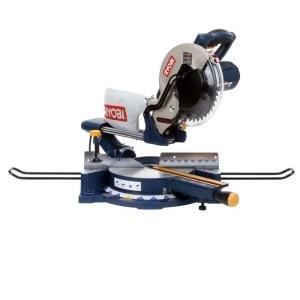 Ryobi 13-Amp 10 in. Sliding Compound Miter Saw with Laser