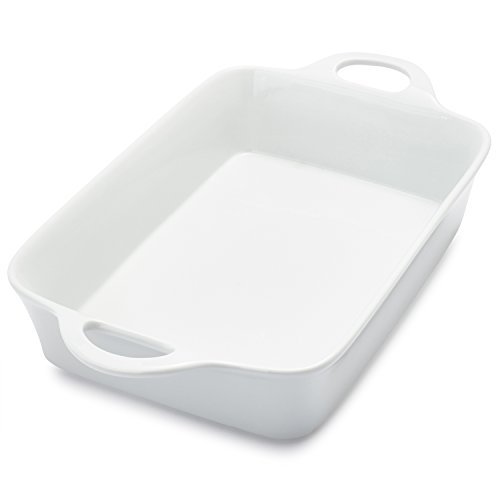 Sur La Table Rectangular Porcelain Baker UN30-206 , 4 qt.