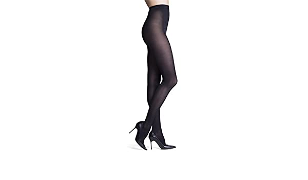 59e20372f INSIGNIA Headliner Opaque Pantyhose - Black (D) at Amazon Women s Clothing  store