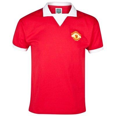 e15f43808 Manchester United 1973 Retro No 7 Home Shirt - Short Sleeved  Amazon.co.uk   Kitchen   Home