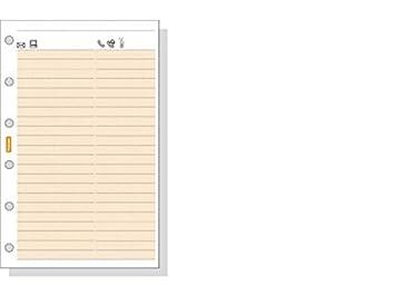 Recambio Agenda Finocam Classic Telefonos (602): Amazon.es ...