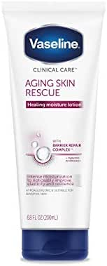 Vaseline Clinical Care Aging Skin Rescue Lotion 6.8 fl oz (Pack of 2)