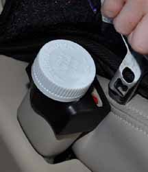 Buckle Guard PRO Car Seat Button Cover (Black) - Deters Children and Disabled Adults from opening their seat belts while riding in a motorized vehicle (Seat Belt Buckle Lock)