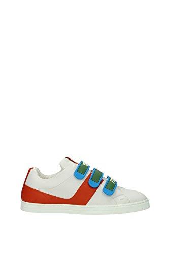 Fendi Sneakers Uomo - Pelle (7E1098TTY) EU Bianco
