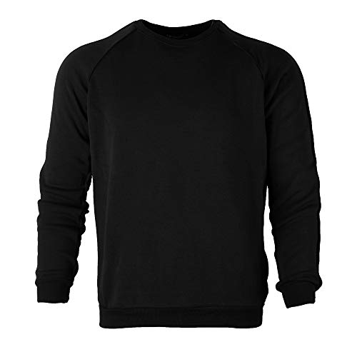 2018 Sweatshirts,Men's Plus velvet thickening Autumn Winter Casual Sweatshirt TrackFor Teen Boys (M, Black)