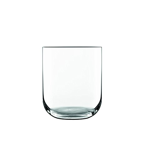 Luigi Glass Bormioli Fashioned Old - Luigi Bormioli 11561/01 Sublime 15.25 oz DOF Double Old Fashioned Glasses, Set of 4, Clear