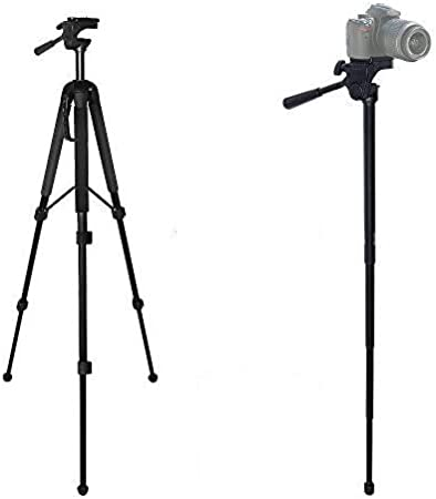 Camera Backpack for /& eCostConnection Microfiber Cloth 72 Inch Elite Series Full Size Camera Tripod for DSLR Cameras//Camcorders