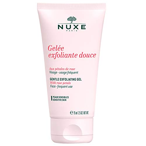 NUXE Gentle Exfoliating Gel for Sensitive Skin, 2.5 oz