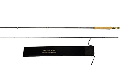 EAT MY TACKLE Trout Tournament Edition Fly Fishing Rod 3/4 Wt ()