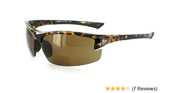 06104711fc Amazon.com   Coyote BP7 Polarized Bifocal Safety Sunglasses with  Low-Profile
