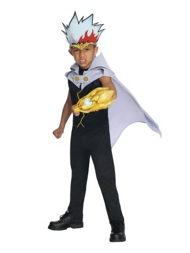 Beyblade Costume Boys Ryuga Costume Jumpsuit & Headpiece