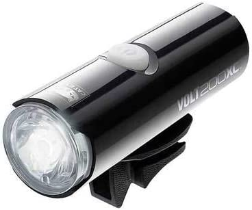 White Laxzo /® Cateye Rapid X High Power USB Rechargeable LED Front Bicycle Light