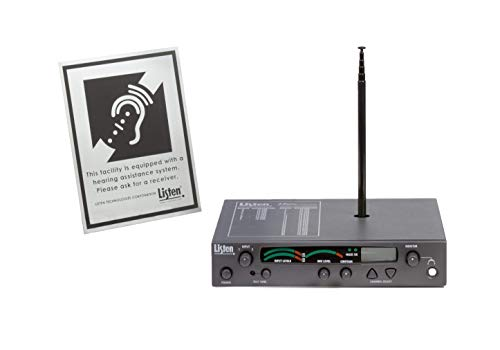 Listen Technologies Stationary RF Transmitter Package 1 (72 MHz)