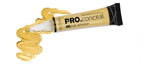 LA Girl Pro High Definition Concealer (1, GC 991 Yellow Corrector)