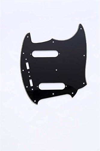 Pickguard for Mustang Black 3-ply (B/W/B) Allparts PG-0581-033
